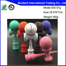 Glow in the dark kendama with glow in the dark kendama balls for wholesale