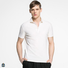 T-MT510 Wholesale 100% Cotton Pique Men's XXXL Plain White Polo T Shirts
