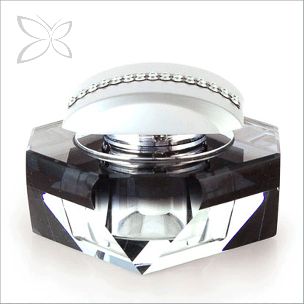 Deluxe Sliver Plated Crystals Luxury Car Perfume