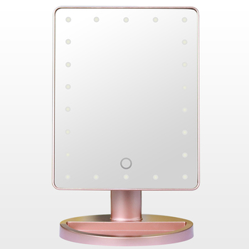 Factory Price Led Light Make Up Mirror,Makeup Tools Touch Screen Mirror Supplier