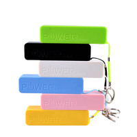 portable smart 2000mah keychain stone power bank for mobile