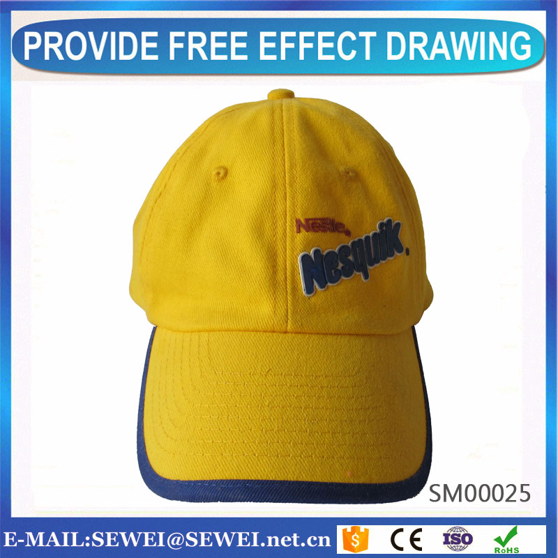 double channel brushed cotton baseball cap foam and water dual fire monitor