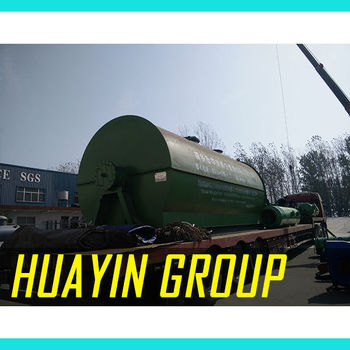 tire recycling making equipment, Plastic Scrap To Diesel For Heating Boiler