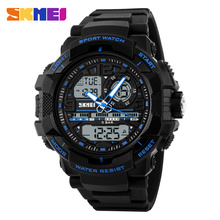SKMEI 1164 Fashion Top Brand Sport Programmable Digital Countdown Timer Men Watches
