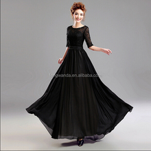 mermaid cut sexy black wedding dresses made in China