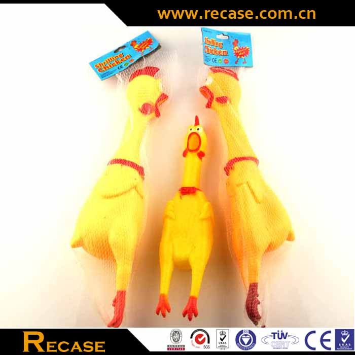 Latex dog toy chicken pet rubber toys plastic squeeze chicken toys