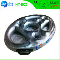 Pool floating Inflatable Beer Wine Snack Holder