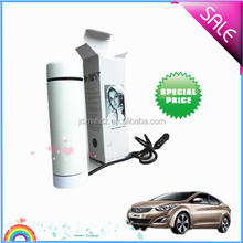 Stainless Steel Heat Cup 12V Car Electric Heated Mug Water Soup Tea Coffee Heater Boiler With Cigarette Socket Car Heater Cup