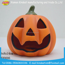 ceramic artificial halloween pumpkin/skull shape led light