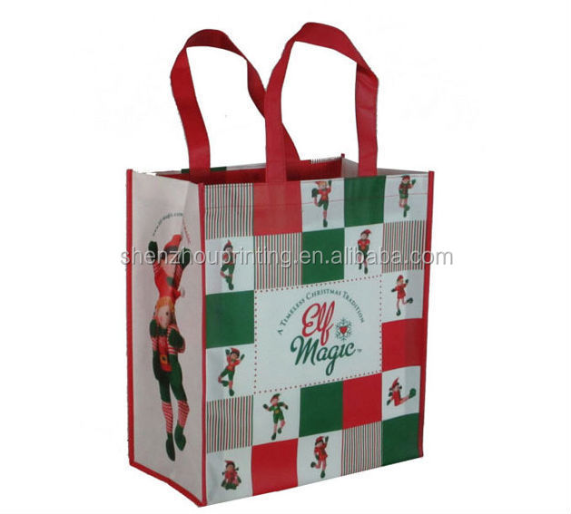 China supplier hot sale non woven shopping bag/pp non woven bag/Cartoon non-woven laminated bag