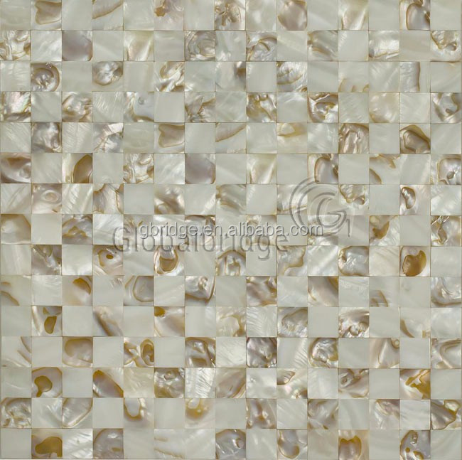 Chinese wall tiles raw mother of pearl shells mosaic for wall