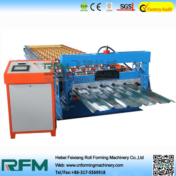 FX metal tile cold press forming machinery