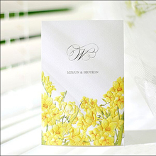 High qualty best service unique wedding invitation card glitter