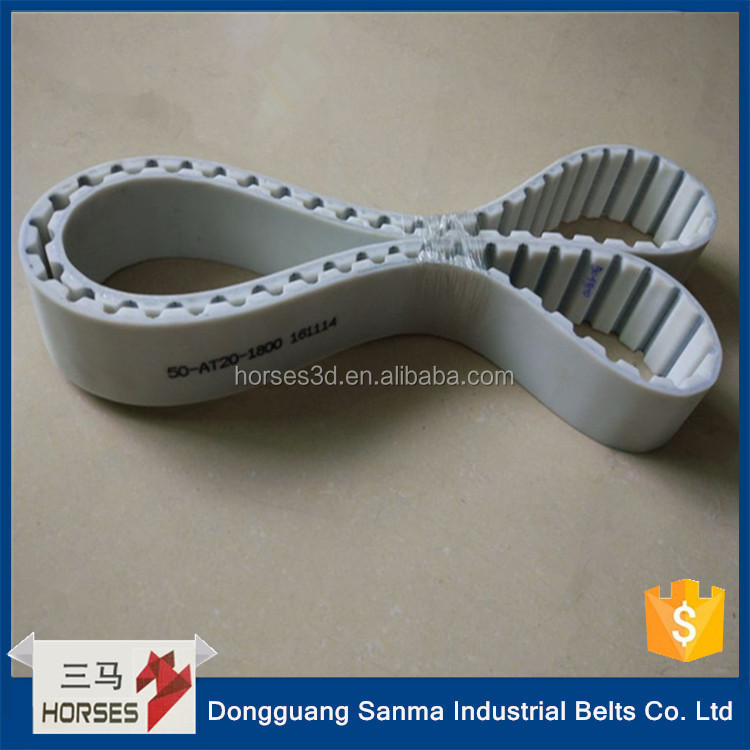 cnc machines belts pu timing belt joint machine