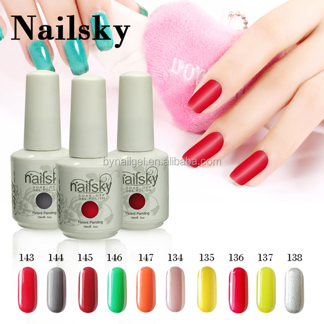 No chipping or peeling private label nail gel polish bulk uv gel korea with MSDS
