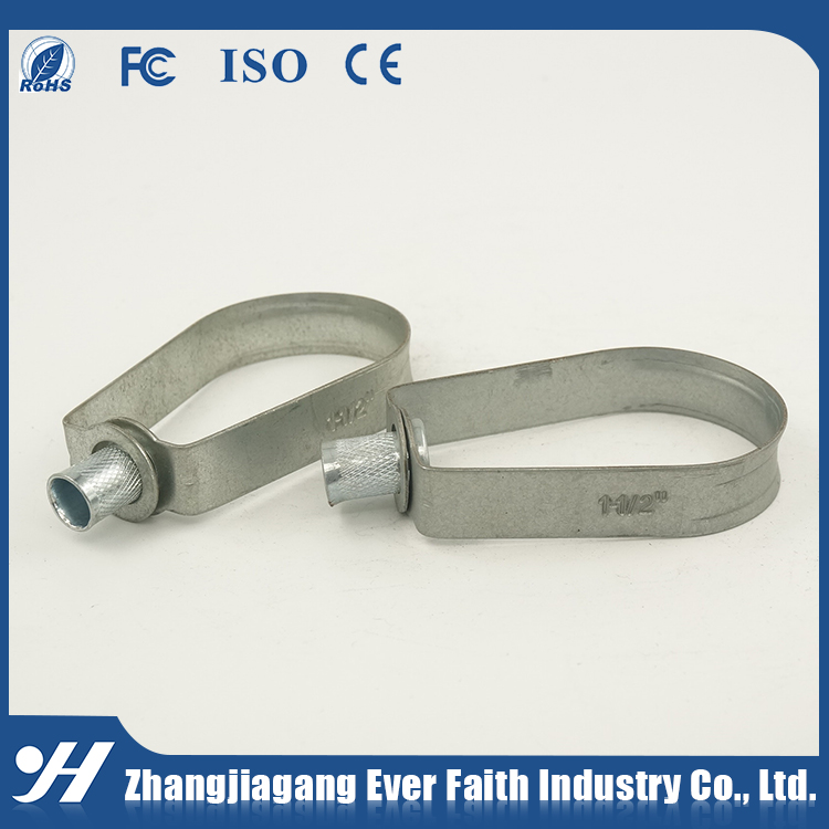 Metal Galvanized Conduit Rigid Galvanized Round Metal Pipe Clamp
