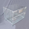 stainless steel wire cage displays storage container with industry