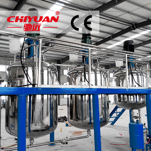 high quality automatic paint production line hot melt resin mixing machine 20160912