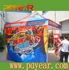 CMYK color printing display tent