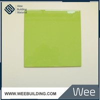 200x200mm Bright Green Color Ceramic Tiles For Decorative
