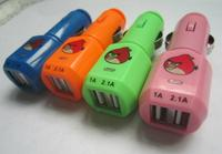 9V 2A universal custom usb car charger for samsung
