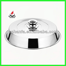 42cm Durable & Cheap Price & Good Quality Stainless Steel Food Cover / Food Lid / Stainless Steel Cover