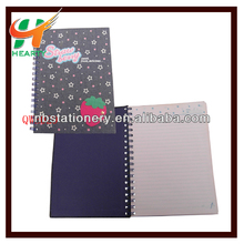 Fabric Cover Spiral Notebook
