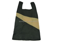 china online foldable tote bag /190T Polyester folding shopping bag / polyester folding shopping bag