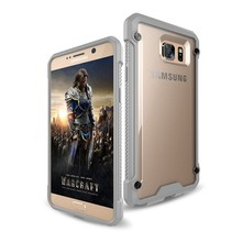 Flexible price low moq hard clear case for samsung galaxy note 2