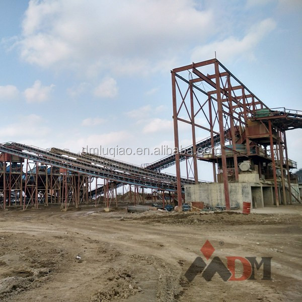 DM mobile stone crushing plant reduce cost of transportation