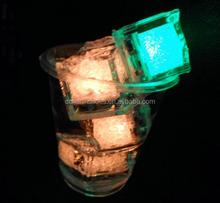 cooling water activated led lighting ice cubes for party Bar ornaments