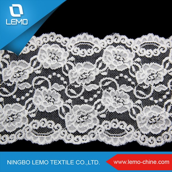 lemo Garment Accessories Sequence Dubai Saree elastic Lace