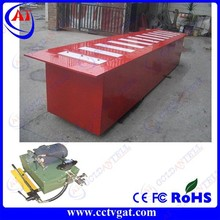 Steel road blocker for road construction safety equipment GAT-GT705