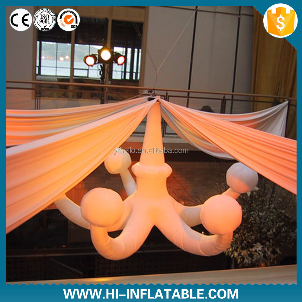 2015 new inflatable hanging decoration for fashion show stage decorations/event ceiling decoration