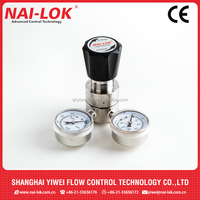 Control panel argon gas regulator spring loaded factory price