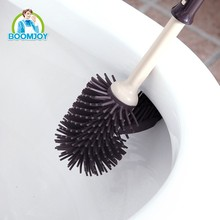 BOOMJOY Trade assurance B1 patent design corner cleaning special design drop shipping toilet <strong>brush</strong> and holder