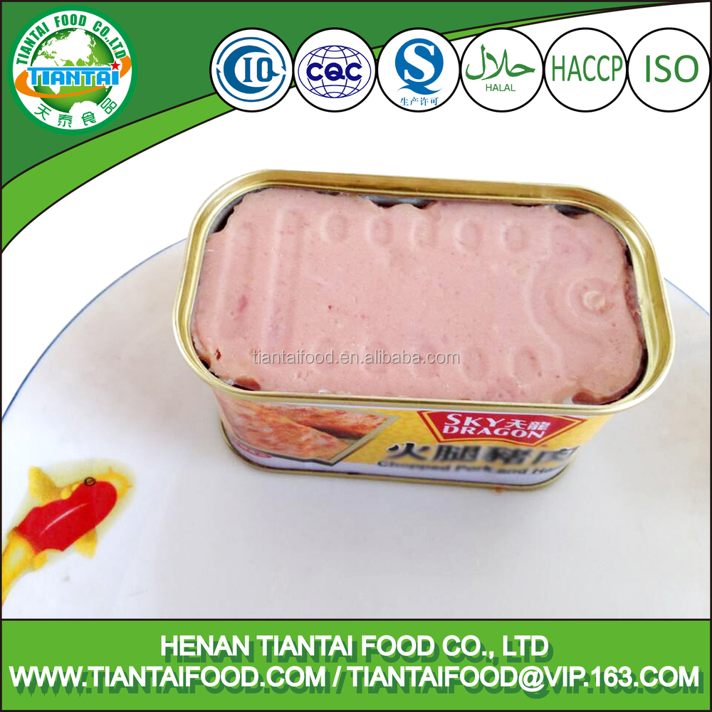 halal mre canned chicken ham