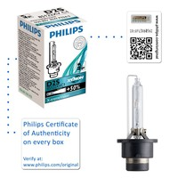 Genuine Philips X-treme Vision D2S Xenon HID Headlight Bulb (Single) 85122XVC1 - Also available in D1S | D2R | D3S