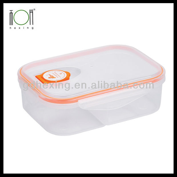 Plastic Food Container with Divider Price Wholesale