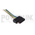 S20815 5 flat vehicle end wire harness