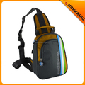 Latest leisure polyester Triangle sling bag