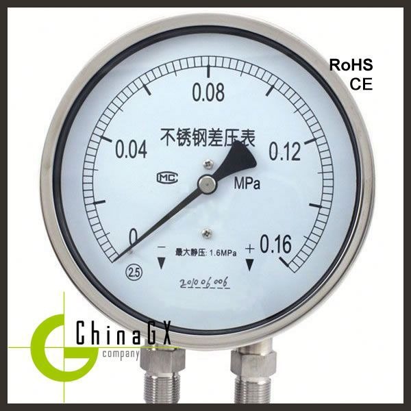 economic ss316 mini seismic oil filled pressure gauge