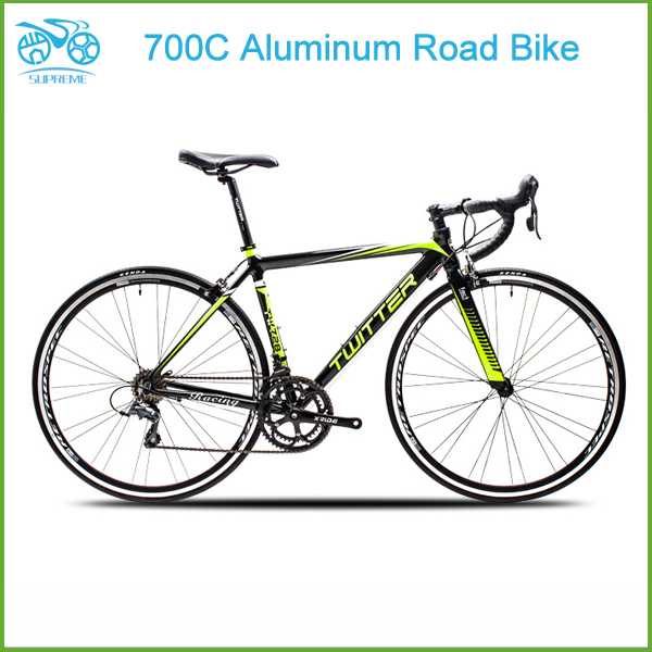supreme bikes 2016 Best seller! Cheap alloy road bike 700C aluminum twitter road bicycle for sale