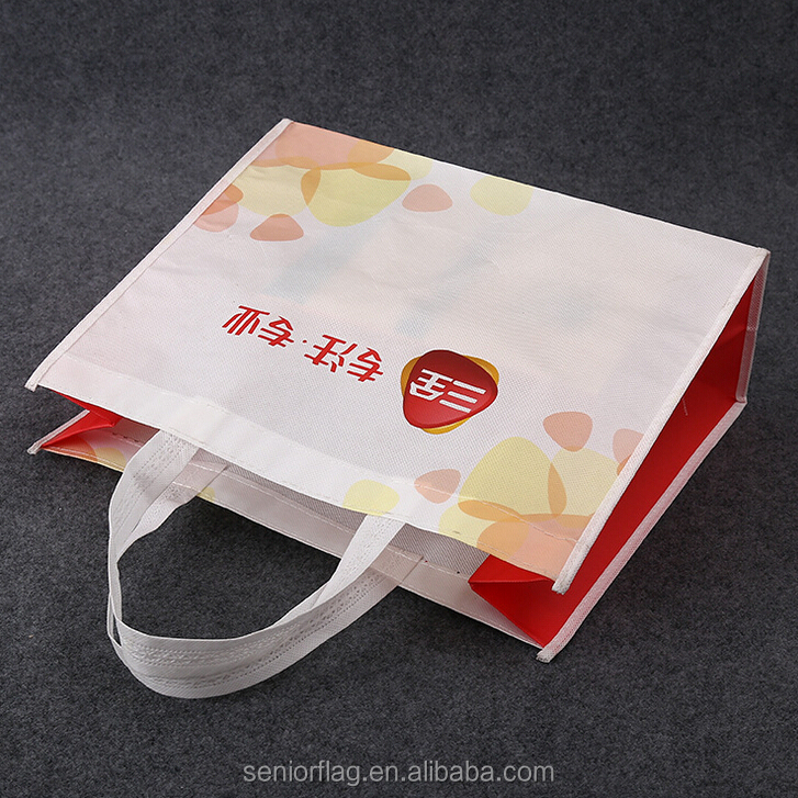 eco-friendly reusable cheap price tote shopping advertisement promotional non woven bag