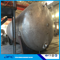 ASME oil and gas tank pressure vessel