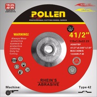 High profile 4.5inch good quality super thin abrasive cutting wheel