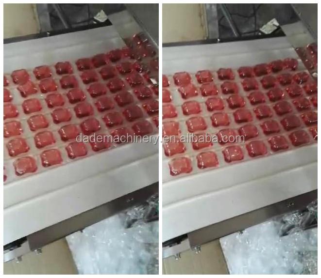 water soluble packaging machine