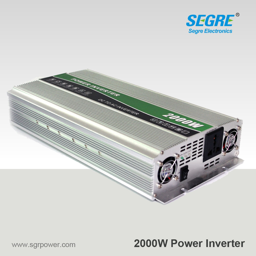Factory price 2000W 12V 220V Car Power Converter Inverter