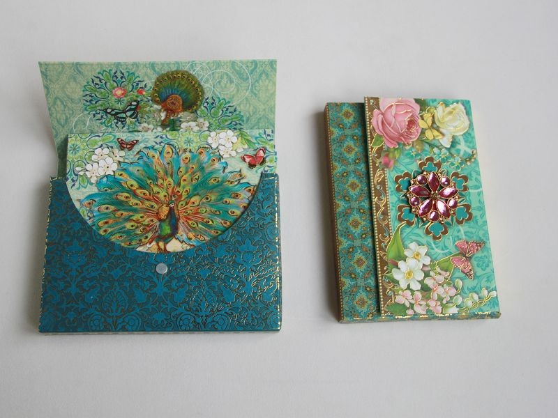 Holiday Gifts Paper Greeting Gift Cards embellish card