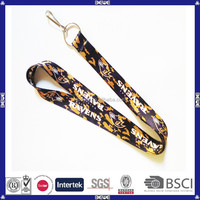 hot sale colorful heat transfer printing lanyards